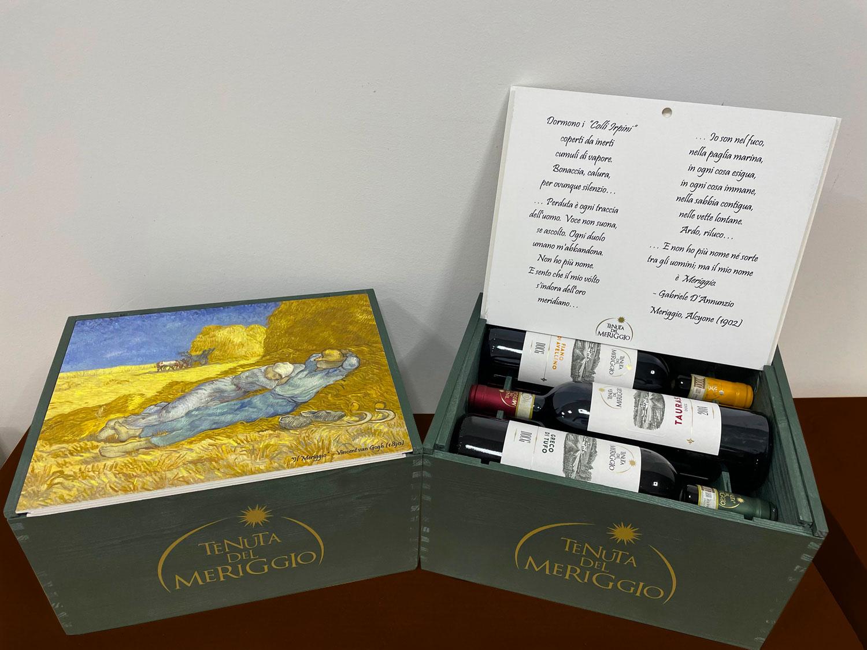 Confezione 6 vini Meriggio nell'arte