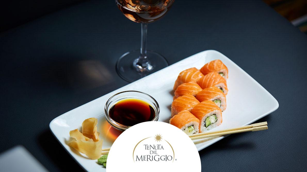 Abbinamento vin sushi